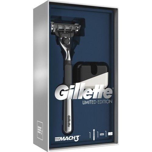 ریش تراش ژِیلت سری مخصوص کروم سری(اصلاح ریش تراش) مدل Gillette Mach3 Tıraş  