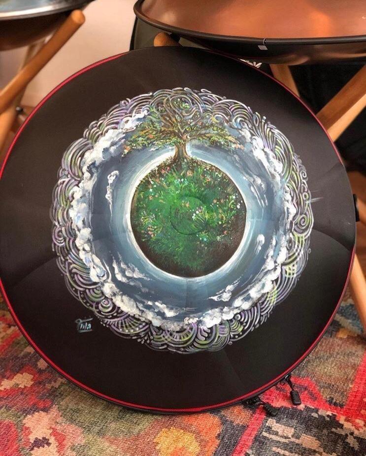 آرت هنگ درام و هاردکیس غیر ماندالایی (نقاشی هنری رو ساز) |