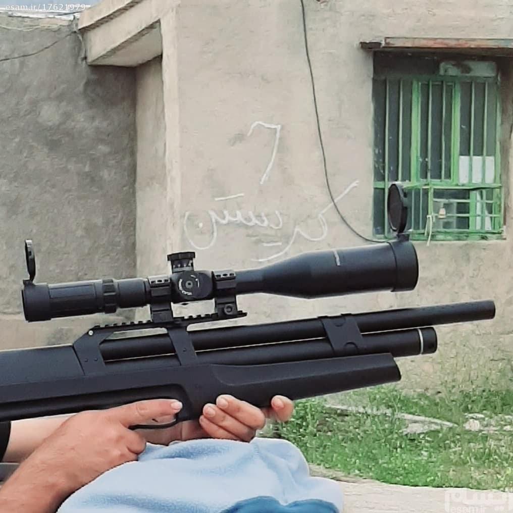 تصویر تفنگ pcp هیوبن k1 ورژن 6 مدل 2021 اکبند