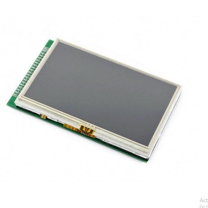 تصویر نمایشگر لمسی 4.3 اینچ مدل A محصول Waveshare 4.3inch 480x272 Touch LCD (A)