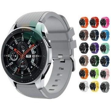 بند سیلیکونی ساعت سامسونگ گلکسی واچ Galaxy Watch 46mm | Samsung Galaxy Watch 46mm Silicone Band Strap
