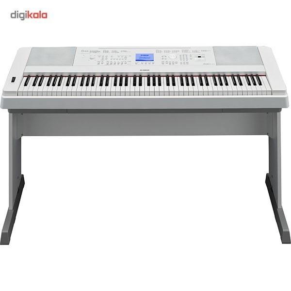 تصویر پیانو دیجیتال یاماها yamaha مدل DGX 660 آکبند