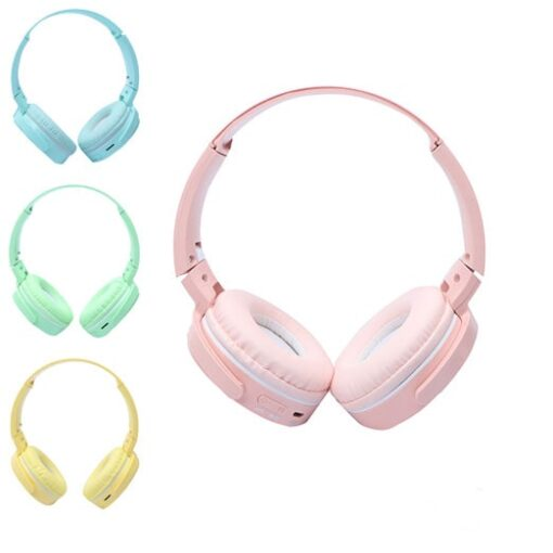 تصویر P36 Wireless Headphone Cyan P36 Wireless Headphone Cyan