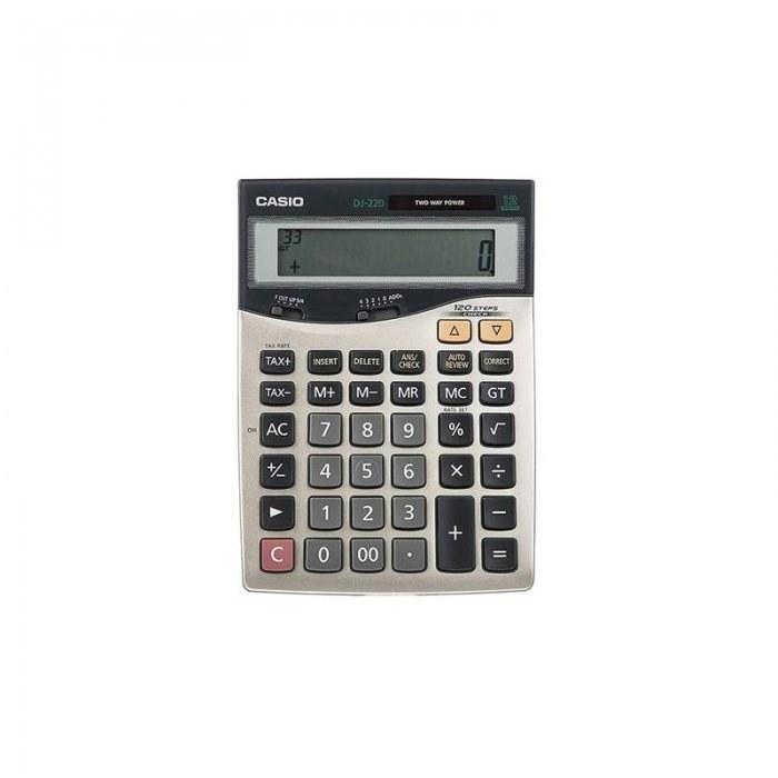تصویر ماشین حساب DJ-220D  کاسیو Casio DJ-220D Calculator