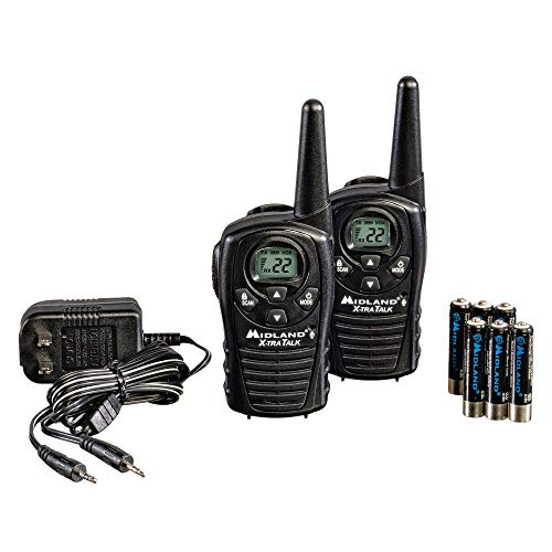 تصویر Midland - LXT118, FRS Walkie Talkies with Channel Scan - Up to 18 Mile Range Two Way Radio, Hands-Free VOX, Water Resistant (Pair Pack) (Black) ا Midland - LXT118, FRS Walkie Talkies with Channel Scan - Up to 18 Mile Range Two Way Radio, Hands-Free VOX, Water Resistant (Pair Pack) (Black) Midland - LXT118, FRS Walkie Talkies with Channel Scan - Up to 18 Mile Range Two Way Radio, Hands-Free VOX, Water Resistant (Pair Pack) (Black)