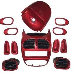 مجموعه تزئینات داخلی خودرو مدل R01 مناسب برای پژو 206 |