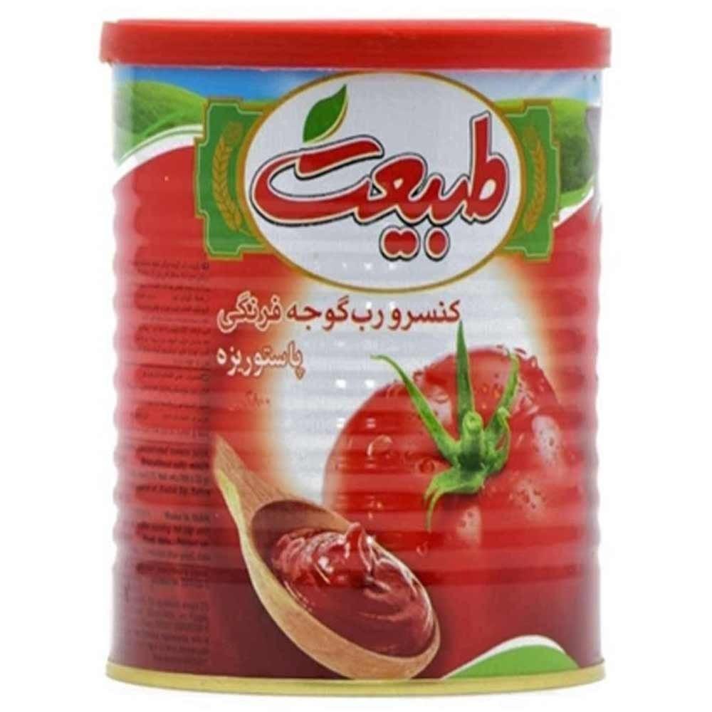 تصویر رب گوجه فرنگی طبیعت 400 گرمی -