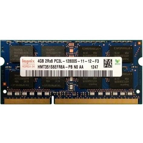 رم لپ تاپ هاینیکس ظرفیت 4 گیگابایت فرکانس 1600 مگاهرتز | hynix 4GB PC3L-12800S SoDimm Notebook RAM Memory Module HMT351S6EFR8A