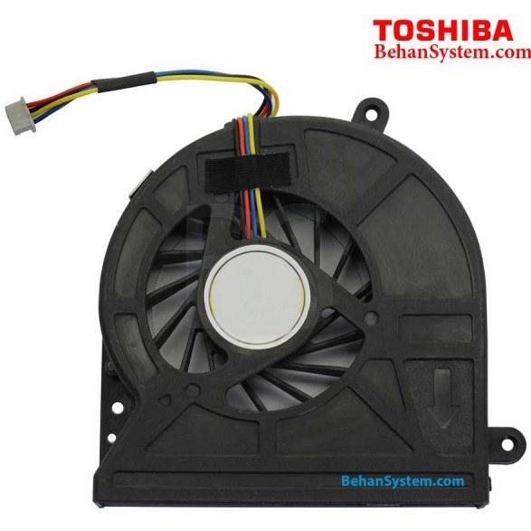 تصویر فن پردازنده لپ تاپ Toshiba مدل Satellite C655