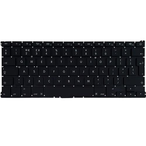 تصویر کیبرد لپ تاپ اپل 1369-1466 مشکی-اینترکوچک Keyboard Laptop Apple 1369-1466-Small Enter