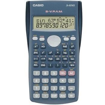 تصویر ماشین حساب کاسیو مدل FX82MS - طرح اصلی casio