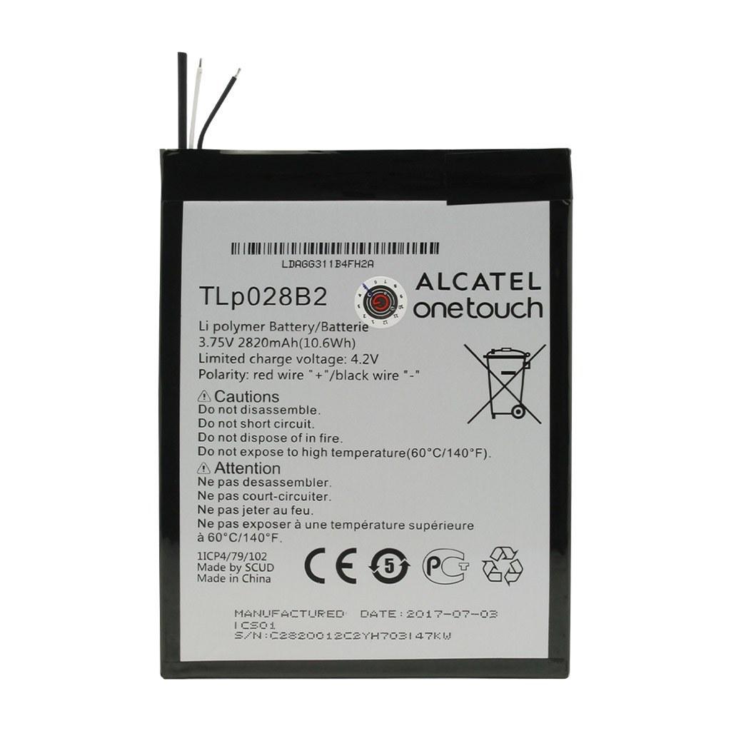 تصویر باتری اورجینال تبلت آلکاتل (Pixi 3 (7 مدل TLp028B2 ظرفیت 2820 میلی آمپر ساعت Alcatel Pixi 3 (7) - TLp028B2 2820mAh Original Battery