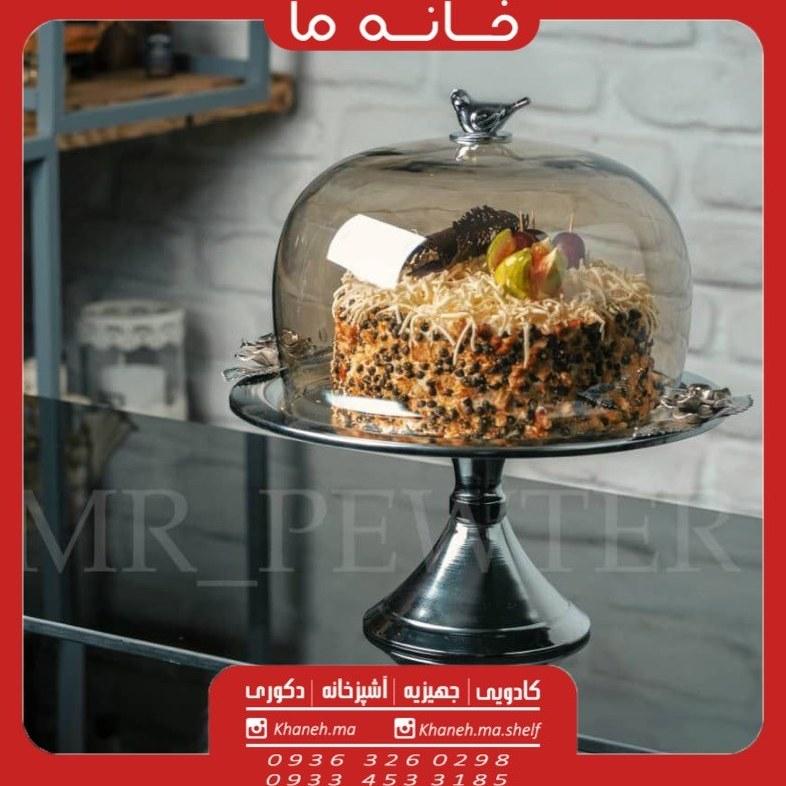 تصویر کیک خوری گل رز مهر