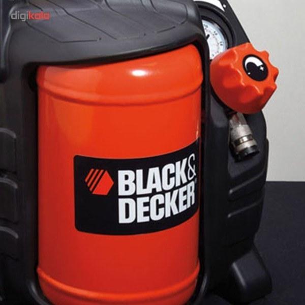 تصویر کمپرسور هوا بلک اند دکر مدل BD 195/5-MY-T Black And Decker BD 195/5-MY-T Air Compressor