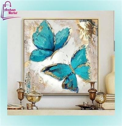 تابلو نقاشی طرح پروانه