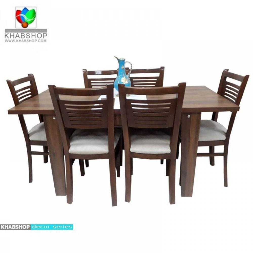 ست میز ناهار خوری تبدیلی 4 به 6 نفره T0180