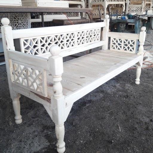 تخت سنتی چوبی تخت باغی تخت قهوه خونه ای