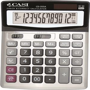 ماشین حساب کاسی مدل سی دی 355 ای