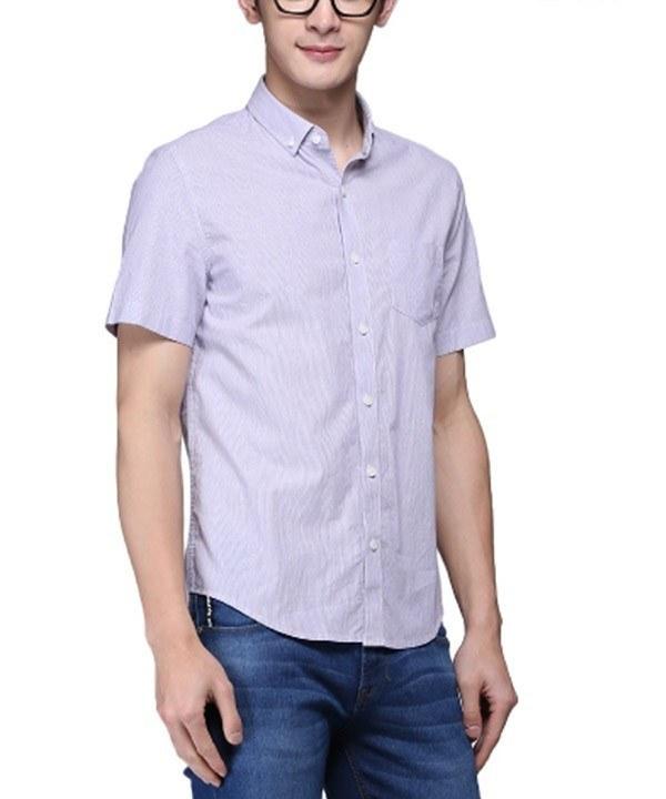 پیراهن راه راه مردانه جین وست