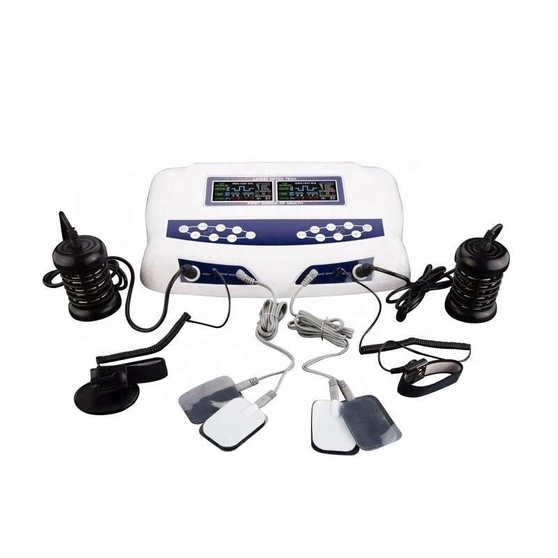 دستگاه سم زدایی دیجیتالی بدن به همراه فیزیوتراپی (همزمان دو نفره و سه کاربره)