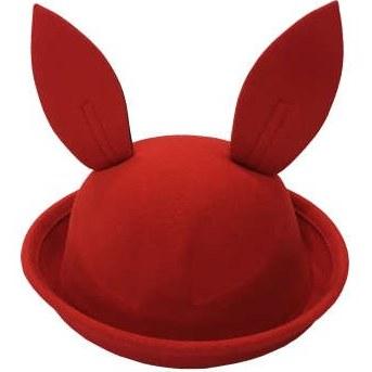 کلاه دخترانه طرح خرگوش کد 0136