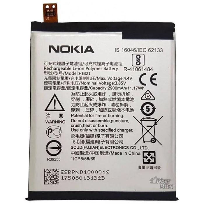 تصویر باتری اصلی نوکیا 5 Battery Nokia 5 HE 321