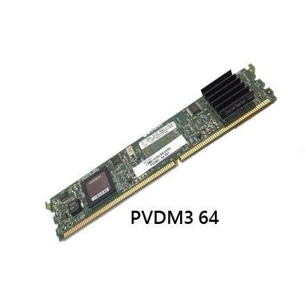 تصویر کارت ویپ سیسکو مدل PVDM3 64 cisco-voip-card-pvdm3-64