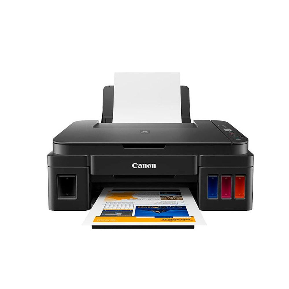 تصویر پرینتر چندکاره جوهرافشان کانن مدل PIXMA G2411 Canon PIXMA G2411 Multifunction Inkjet Printer