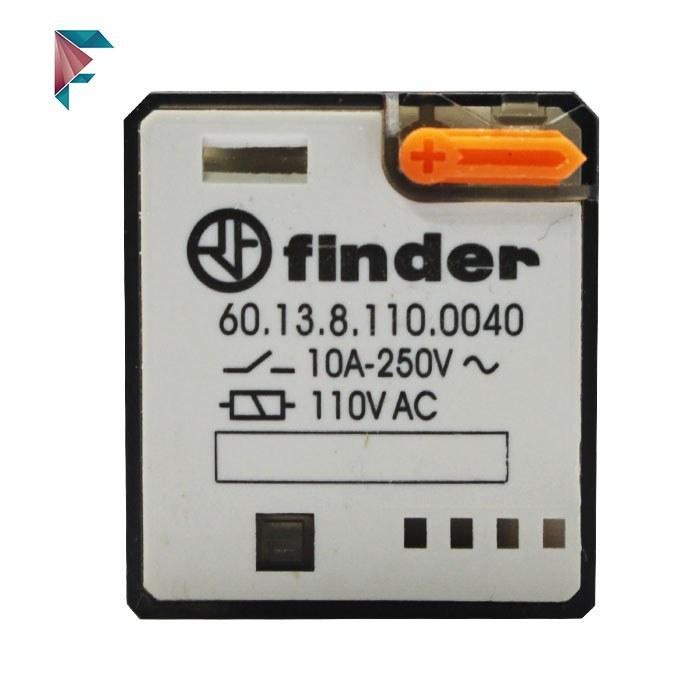 تصویر رله فیندر 110 ولت  | 11 پایه| 60.13.8.110.0040 | finder