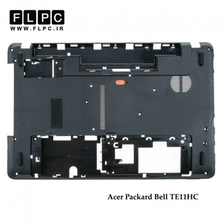 تصویر قاب کف لپ تاپ ایسر Acer Packard Bell TE11HC Laptop Bottom Case _Cover D مشکی
