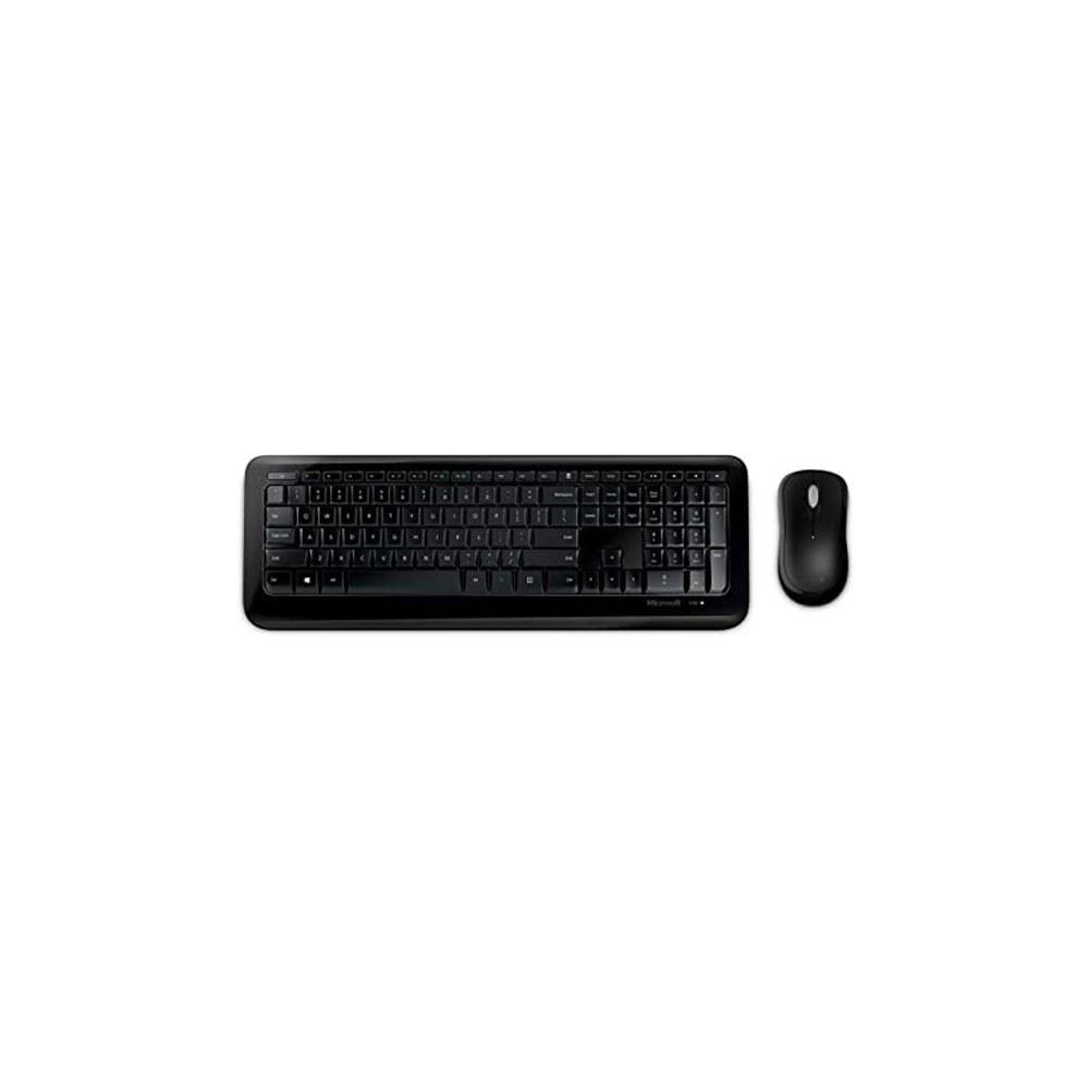 تصویر کیبورد و موس بی سیم مایکروسافت مدل Microsoft Wireless Desktop 850