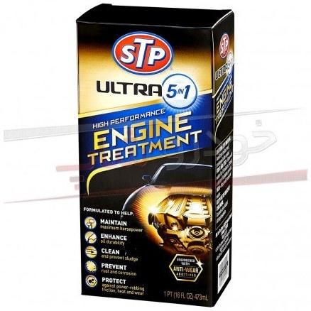 main images مکمل روغن محافظ و تقویت کننده موتور اس تی پی حجم 473 میلی لیتر STP Ultra 5 in 1 High Performance Engine Treatment