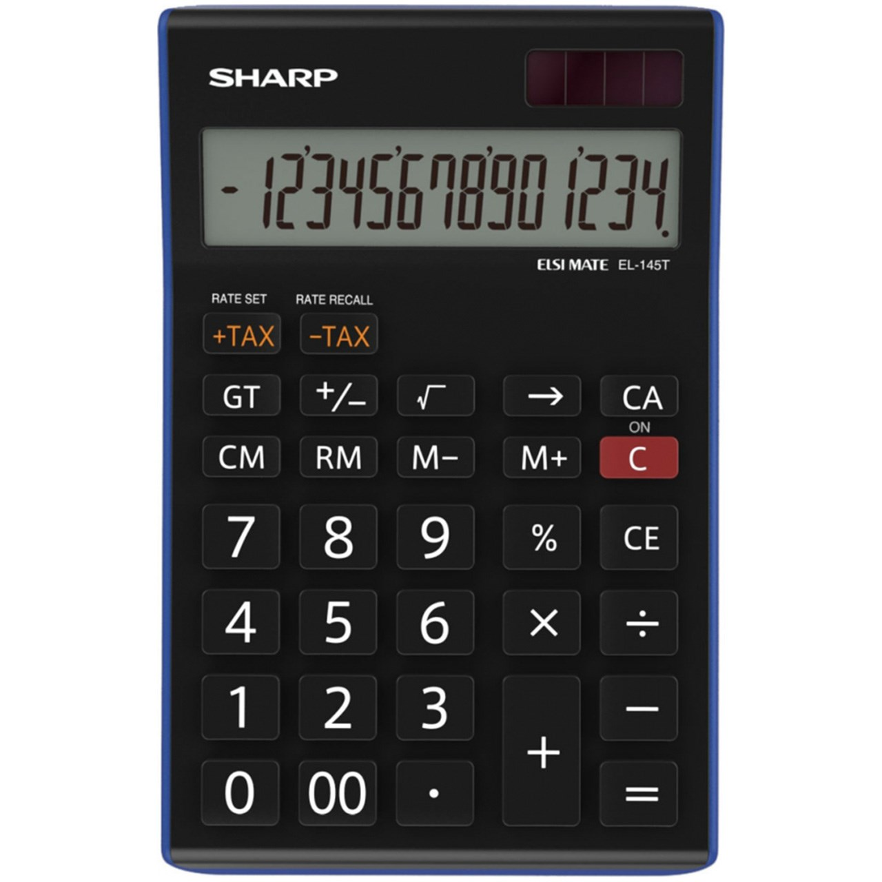 تصویر ماشین حساب شارپ مدل EL-145T BL SHARP EL-145T BL Calculator