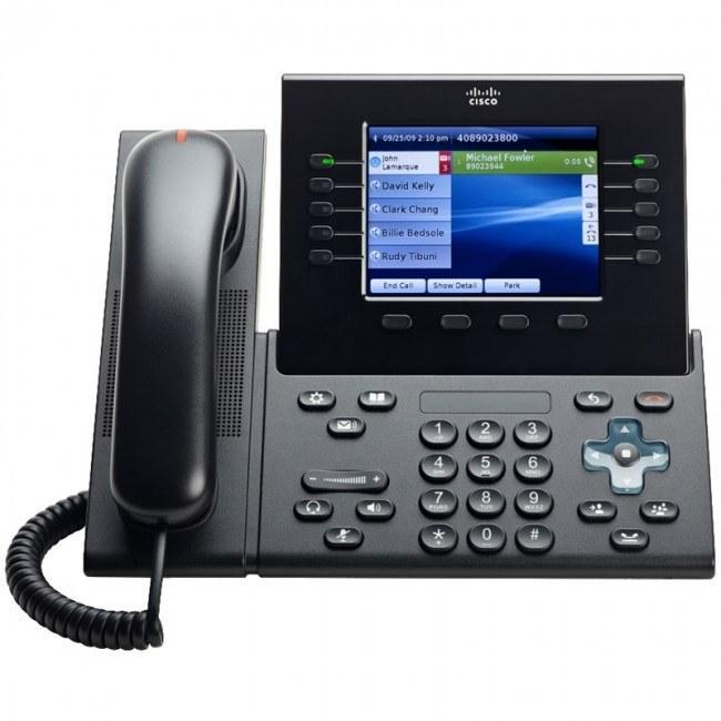 تصویر Cisco 8961 Phone تلفن VoIP سیسکو مدل 8961 تحت شبکه