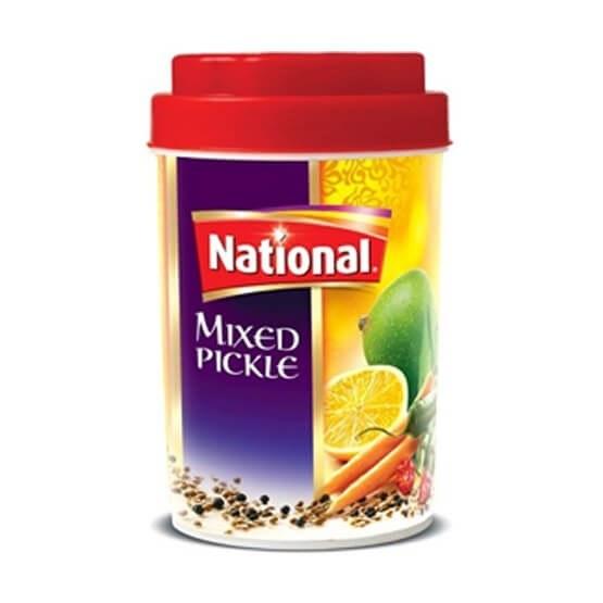 تصویر ترشی مخلوط ناسیونال ۱ کیلو گرم – National Mixed Pickle