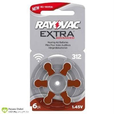 تصویر باتری سمعک ریواک شماره 312 RAYOVAC RAYOVAC Hearing Aid Battery