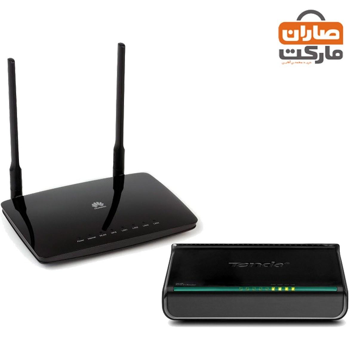 تصویر باندل مودم ADSL کابلی Tenda و روتر بیسیم Huawei ا باندل مودم ADSL کابلی Tenda و روتر بیسیم Huawei باندل مودم ADSL کابلی Tenda و روتر بیسیم Huawei