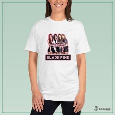تصویر تی شرت زنانه Black Pink