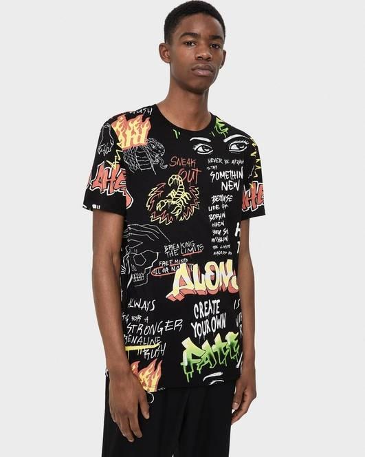 تی شرت آستین کوتاه برشکا با کد 7799/922/800 ( T-shirt with print ) | تی شرت آستین کوتاه مردانه برشکا