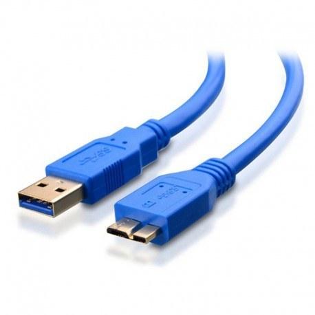تصویر کابل میکرو USB3.0 هارداکسترنال 30 سانت