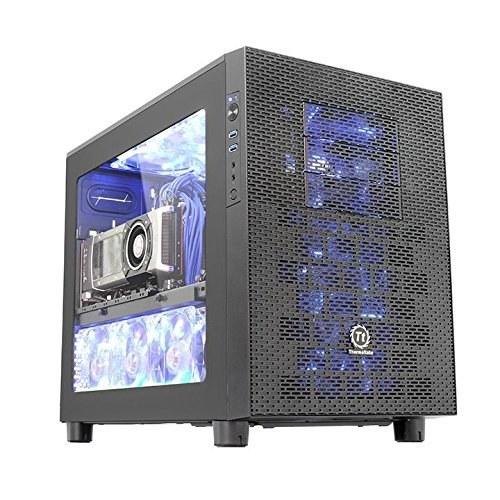 main images شاسی کامپیوتر مکعب معتبر Thermaltake Core X2 Micro ATX Stackable Tt LCS CA-1D7-00C1WN-00