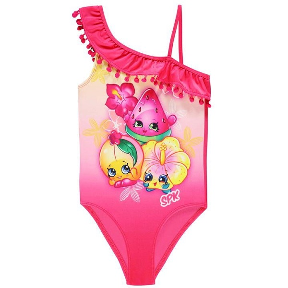 مایو شنا دخترانه کاراکتر مدلShopkins
