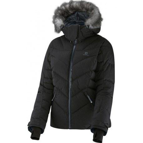 کاپشن کوهنوردی زنانه سالامون مدل Icetown Jacket
