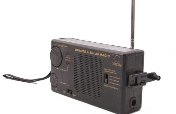 تصویر رادیو کوچک آفتابی