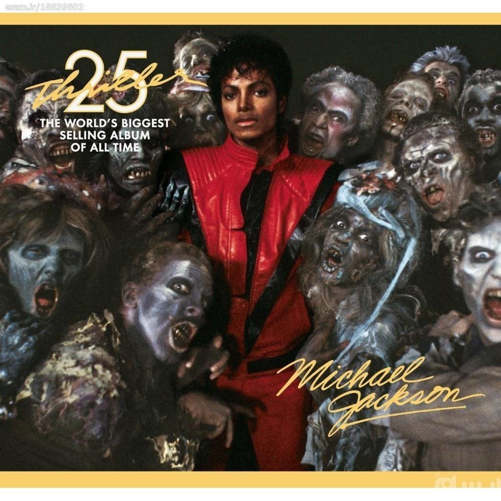 main images آلبوم اورجینال Michael Jackson - Thriller