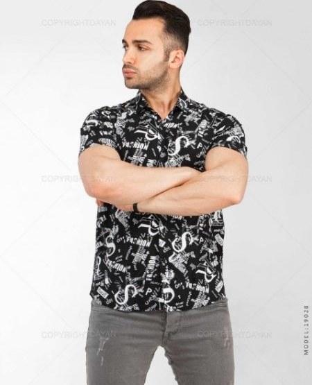 تصویر پیراهن مردانه Floy مدل 19028