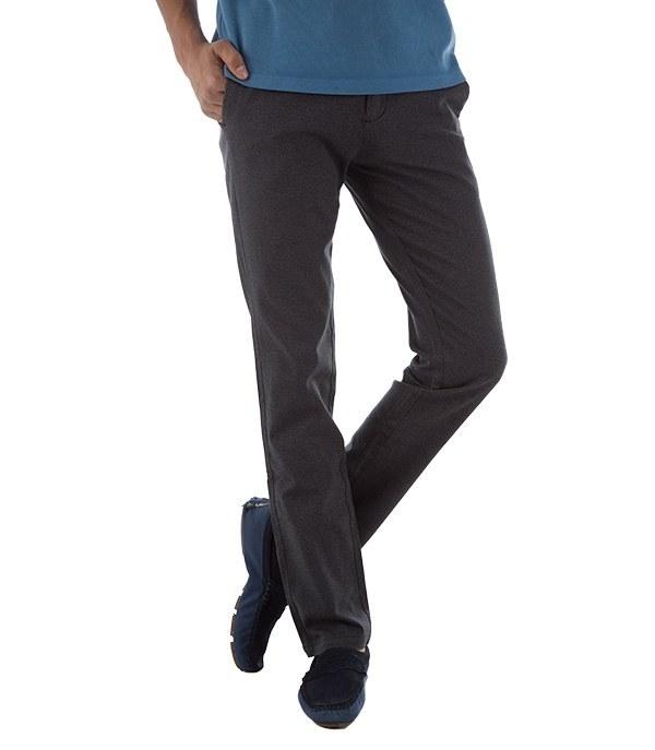 شلوار مردانه پارچه ای مشکی جین وست Jeanswest