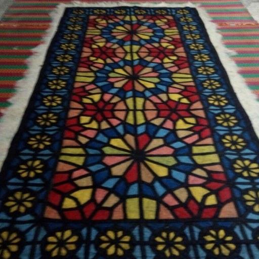 تصویر فرش نمدی مدرن کد 1033