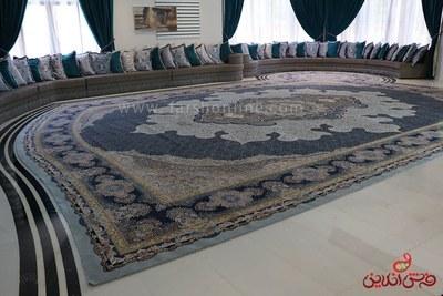 فرش ماشینی بزرگ پارچه سفارشی منزل |