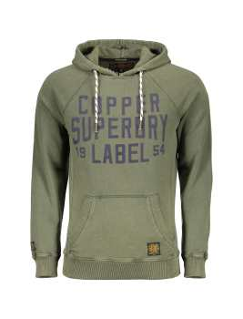 هودی نخی جلو بسته مردانه Camisola Copper Label Cafe Racer | Men Cotton Close Front Hoodie Camisola Copper Label Cafe Racer